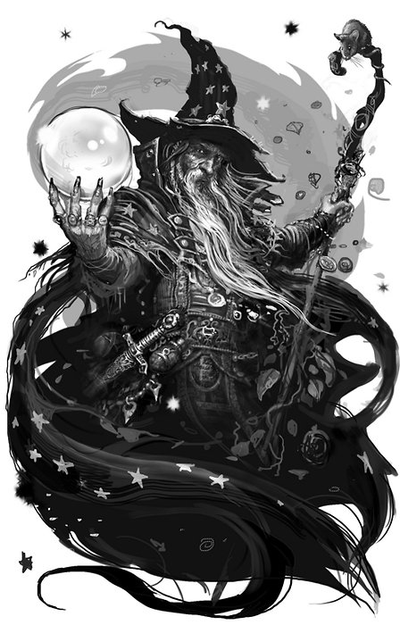 Wizard by Dominik Broniek via reality-breaker.tumblr.com