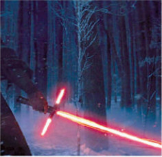 Star Wars' lightsaber